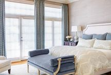 master bedroom drapery designs