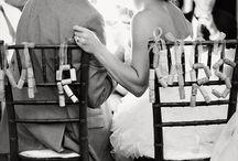 DIY cork wedding styling