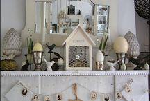 Mantle / Inspiration for magnificent mantle decor.