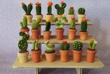 Cactus crochet and knit