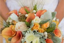 Autumn Wedding Bouquets / Inspiring autumnal bouquets...plus one or two pics of Kelly & Richard's wedding