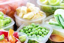 Congélation des légumes frais