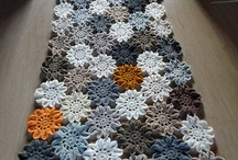 crochet tableware