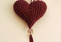 Crocheted Heart Pattern