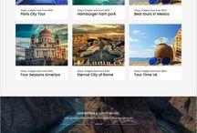 Tourism & Hospitality Website Inspiration