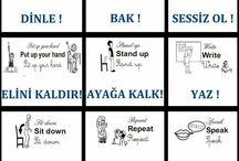 Ingilizce öğreniyorum