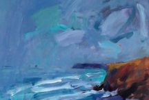 Mike Hindle paintings / paintings by contemporary Cornish artist Mike Hindle