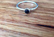 rings, bracelets, necklaces
