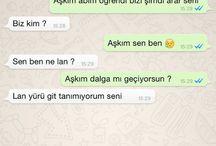 Whatsapp dialogları