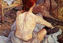 Henri de Toulouse-Lautrec (1864-1901) / Fransk maler kendt for plakater og malerier med motiver fra teater- og varietéverdenen.