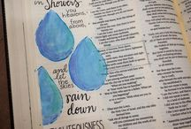 Isaiah--Bible Journaling by Book / Bible Journaling examples from the book of Isaiah