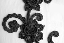 Pattern irish crochet, irish lace