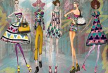 circus / Inspirado en los intensos y divertidos colores encontrados en el circo, las figuras geométricas son también un papel importante en la colección, dando un toque femenino y divertido a cada prenda.