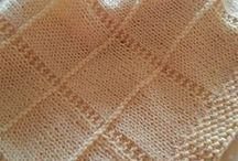 pletene, hackovane deky