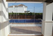 Glass Curtains / Closing Terraces with Glass Curtains