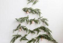 Kerst met weinig! / Is kerst bij jou in huis ook zo druk? Hier vind je inspiratie om met weinig, tóch een leuke kerstsfeer neer te zetten!