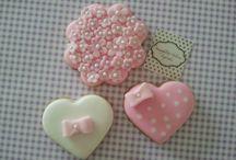 Cookies Namorados / Deliciosos cookies amanteigados