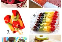 Summer food / Colourful