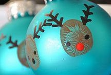 Diy christmas bulb ornaments / by Kim Truman