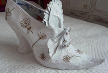 chaussures de Martine Hetté