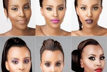 One Woman Six Faces / The way a woman chooses to wear her Make-up tells us more about her than words could describe. Choose a FACE that captures the LOOK that expresses who YOU are!