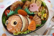 comidas infantiles y postres con diseños