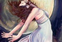 Goddess/Gods Inspiration / Goddesses to paint x