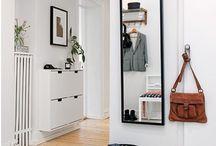 Small spaces + hallways