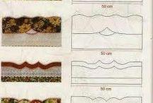 barrados de tecido