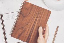 Wood Notebooks