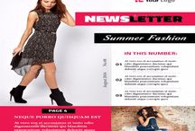 14+ Printable Fashion Newsletter Template PSD and InDesign