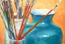 My paintings in oil.