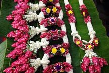 floral garlands