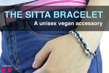 The Sitta Vegan Bracelet / Truth Belts now has a new bracelet added to the wrist cuff collection! The Sitta bracelet is made out of zinc hex nuts and an 100% vegan leather cord. $24.00 www.truthbelts.com