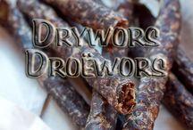 Droewors, biltong, jerky & smoking/curing