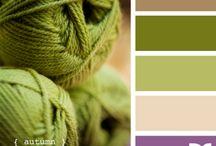favorite combos: purple & green