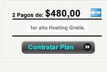 Precio Planes Diseño Web / Aqui puede conocer los precios de algunos de los planes de diseño web que ofrece Supaginagratis.com.ar