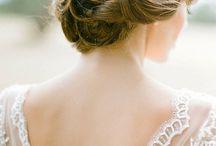 bouquet & hair