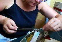 TIFFANY VITRÁŽ (Tiffany stained glass) / Výtvarné potřeby a kurzy