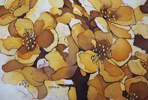 """""""FIORI"""" / pittura di Natalia Khromykh"""