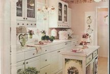 Chaby chic kitchen