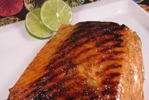 Dinner ideas / Lime glazed salmon
