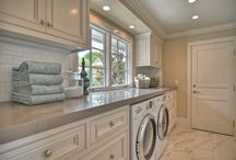 Houzz Guest Picks // 20 Must-Have Items for a Clean & Tidy Laundry Room / Laundry. We all have to do it at some point or another, so why dread this task time and time again. Having a functional and stylish laundry room may actually allow you to enjoy your time spent washing dirty clothes and ironing your trousers. These 20 stylish, functional, and must-have items are just what your laundry area needs to keep it clean and tidy. / by Britt Stager // My Daily Randomness