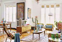 Ретро — интерьер. 20-е годы / #excll #дизайнинтерьера #решения Эта квартира  в стиле винтаж с проблесками модерна показалась нам настолько необычной и особенной, что нам захотелось поделиться с вами этими изображениями.