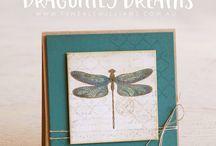 Stampin up Dragonfly dreams