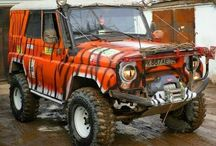 UAZ/YA3-469/Hunter - Offroad, Camper, Overland Modify