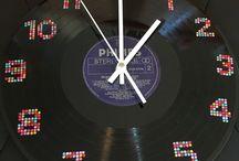 Vinyl Record Art / Vinyl Record Art, Clocks, Food Displays - Find them on Trademe