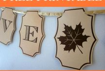 Thanksgiving / Thanksgiving home decor, DIY projects, wreaths, recipes, printables