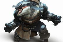 RPG Inspiration Orca folk