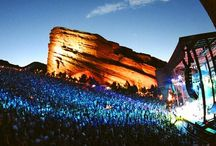 Red rocks. / Red rocks including the famous amfitheatre.